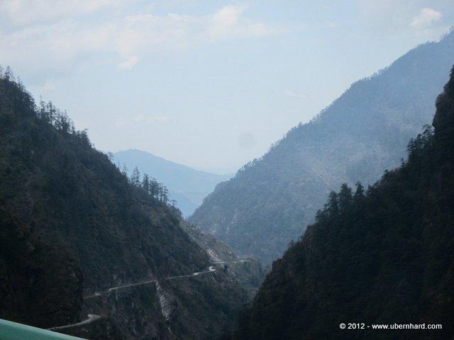 A long way back to Kathmandu...